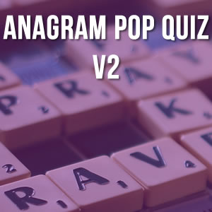 Anagram Music Quiz Volume 2