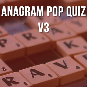 Anagram Music Quiz Volume 3