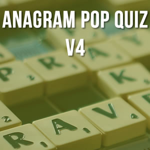 Anagram Music Quiz Volume 4